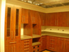 Cabinetry under construction